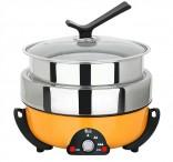 3.5L三層火烤料理鍋
