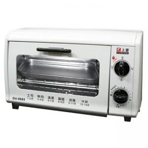 電烤箱雙旋鈕6L